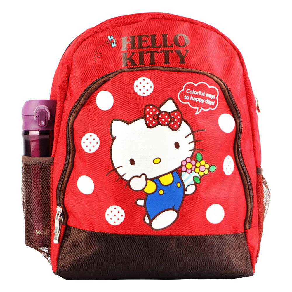 Hello Kitty 雙層透氣書包-紅色(ML0244)