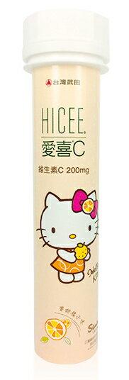愛喜 維生素C200mg口嚼錠 20顆【德芳保健藥妝】