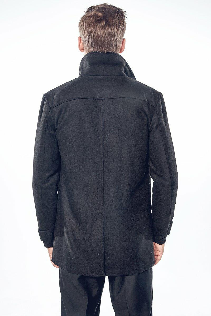 FINDSENSE Z1 韓國 時尚 潮 男 翻領 中長款 金色扣子 風衣 大衣 休閒款西裝外套