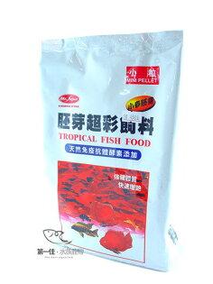[第一佳水族寵物]台灣水族先生Mr.Aqua胚芽超彩飼料小粒(袋裝)[1kg]免運
