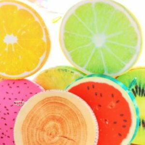 美麗大街【105032003】KUSO搞怪造型水果 木頭 輪胎 蛋黃...坐墊抱枕