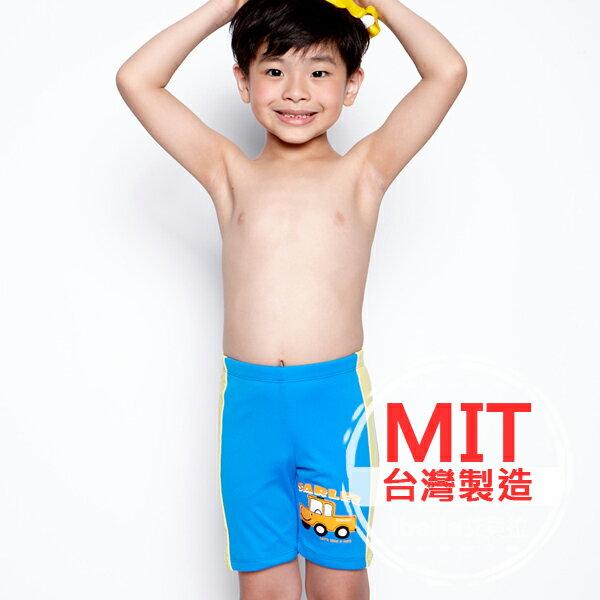 小男童泳褲 MIT台灣製造卡車玩具車塗鴉印花七分泳褲【36-66-85904】ibella 艾貝拉