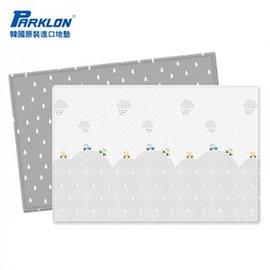 【淘氣寶寶】韓國 Parklon帕龍-PVC雙面包邊地墊(遊戲墊) 汽車款 190*130*1.2