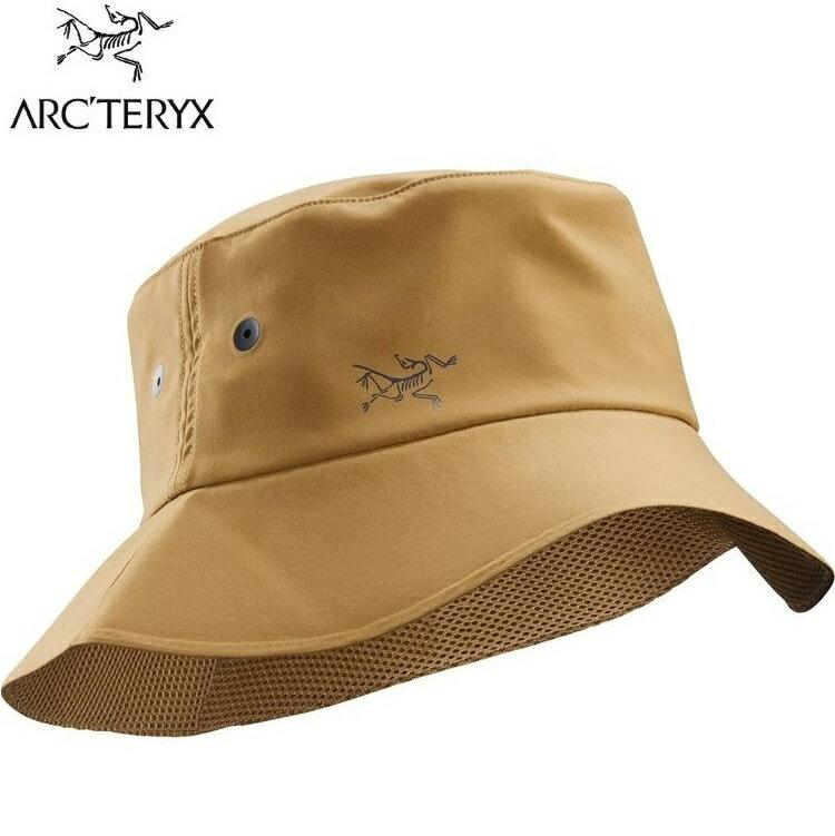 Arcteryx 始祖鳥 Sinsolo 漁夫帽 抗UV遮陽帽 23192 駝鹿棕