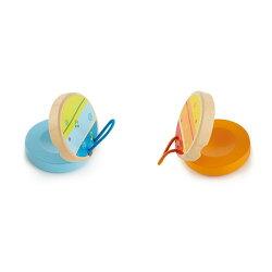 【德國Hape愛傑卡】音樂響板(1入) ★顏色隨機出貨