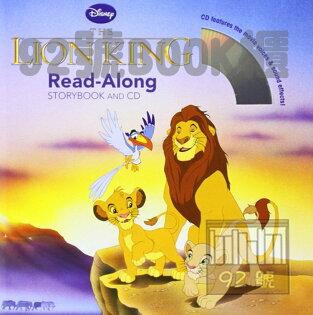 92號BOOK櫃-參考書專賣店:TheLionKing獅子王(CD有聲書)
