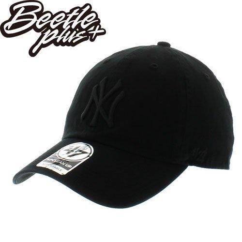 BEETLE 47 BRAND 老帽 紐約 洋基 NEW YORK YANKEES DAD HAT 大聯盟 全黑 黑魂 MN-392 0