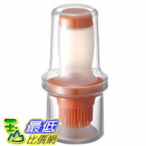 [106美國直購] ASVEL 2324 60ml 擠壓式油刷瓶 廚房調味罐 矽膠刷頭