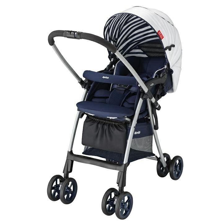 聰明媽咪婦嬰用品 愛普力卡 Aprica Luxuna light CTS 挑高型座椅超輕盈系列嬰幼手推車-北海之戀