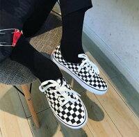 情人節禮物推薦到FINDSENSE Z1 日系 流行 時尚 情侶鞋 經典黑白格子 帆布鞋 原宿風 休閒鞋 板鞋 滑板鞋