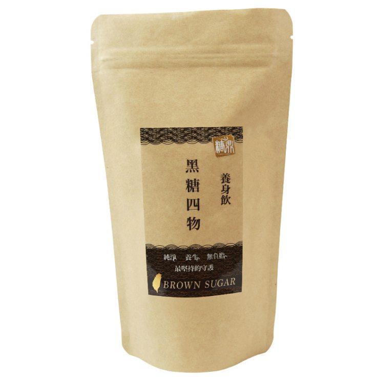 【糖鼎養生鋪】黑糖四物茶磚-輕巧包(35克x8顆獨立包裝)