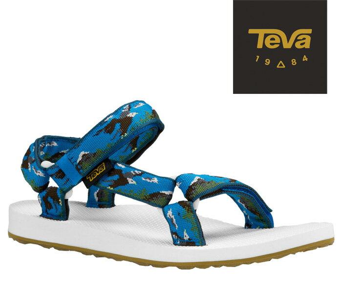 【超值搶購↘原$1680】TEVA |美國| ORIGINAL 原創系列復古款涼鞋 運動涼鞋 女款 老鷹藍/TV1003987EGBL