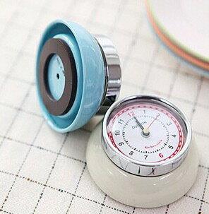 DULTON金屬機械時鐘 日本道爾頓廚房冰箱貼時鐘 石英錶 經典造型 100-189 100189【 Limiteria】
