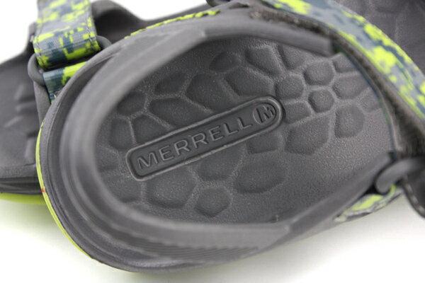 MERRELL 涼鞋 灰色 中童 no052 4