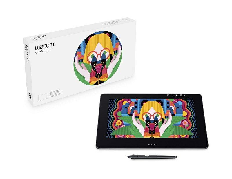【Wacom 專賣店 送全套好禮】Wacom CintiQ Pro 13吋 DTH-1320/AK3螢幕繪圖板 HDMI