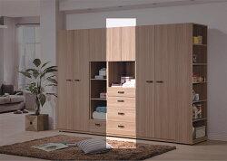 【尚品家具】HY-B138-08 諾拉系統2尺抽屜衣櫥
