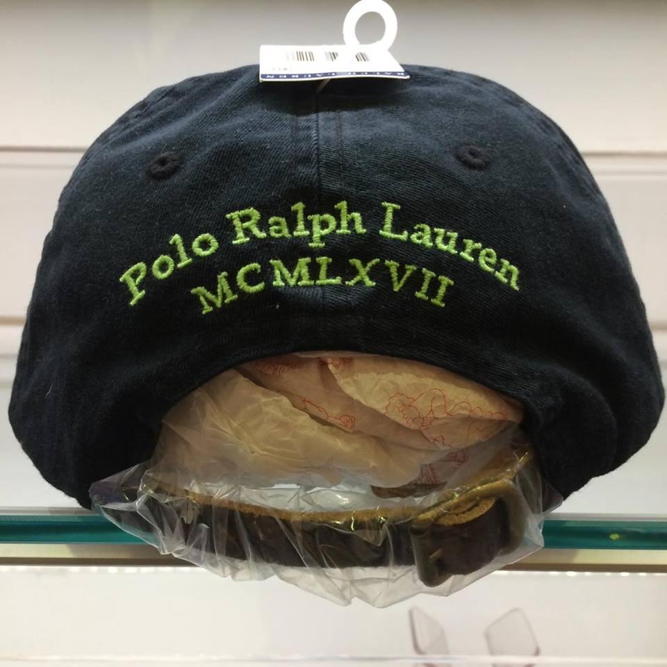 BEETLE POLO RALPH BASEBALL CAP 全黑 黑綠 馬球 LOGO 可調式 老帽 棒球帽 MN-386 2