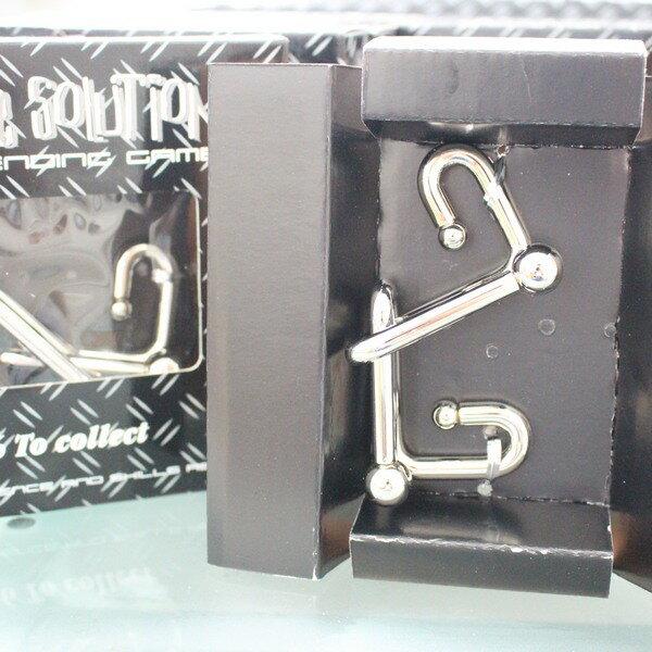 魔術道具 加粗白鐵智力環扣 智力鐵環(大黑盒 / 共有6款)一款入 { 促90 } ~5383 4