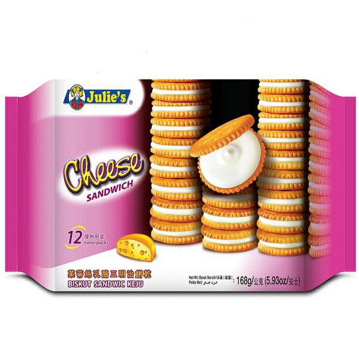 茱蒂絲乳酪三明治餅乾168gX12包