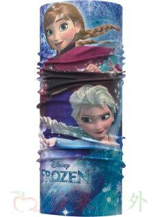 【【蘋果戶外】】BF115437西班牙BUFF魔術頭巾姐妹情深迪士尼冰雪奇緣FROZEN兒童小頭圍女孩女生