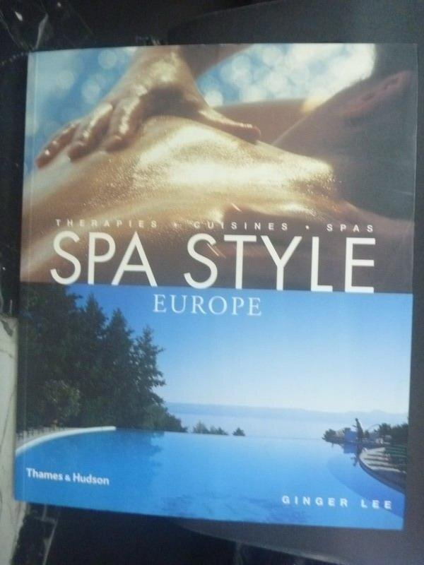 ~書寶 書T5/旅遊_ZDP~Spa style Europe_Ginger Lee.