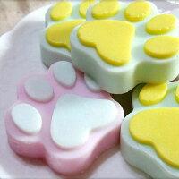 婚禮小物推薦到婚禮小物-可愛熊掌手工皂 (一組5入)/甜點皂/節日禮品【棠逸手作皂 】