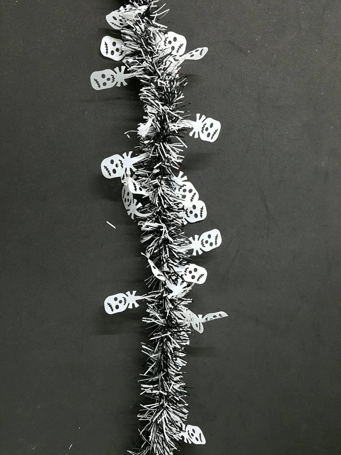 X射線【W413834】萬聖造型金蔥-鬼頭,萬聖節/彩條/佈置/裝飾/擺飾/會場佈置/交換禮物/金蔥條/櫥窗/店面裝飾/道具/吊飾
