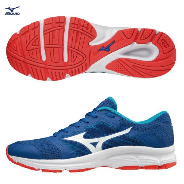 J1GE181802(深藍X白)MIZUNOEZRUNLX男慢跑鞋【美津濃MIZUNO】