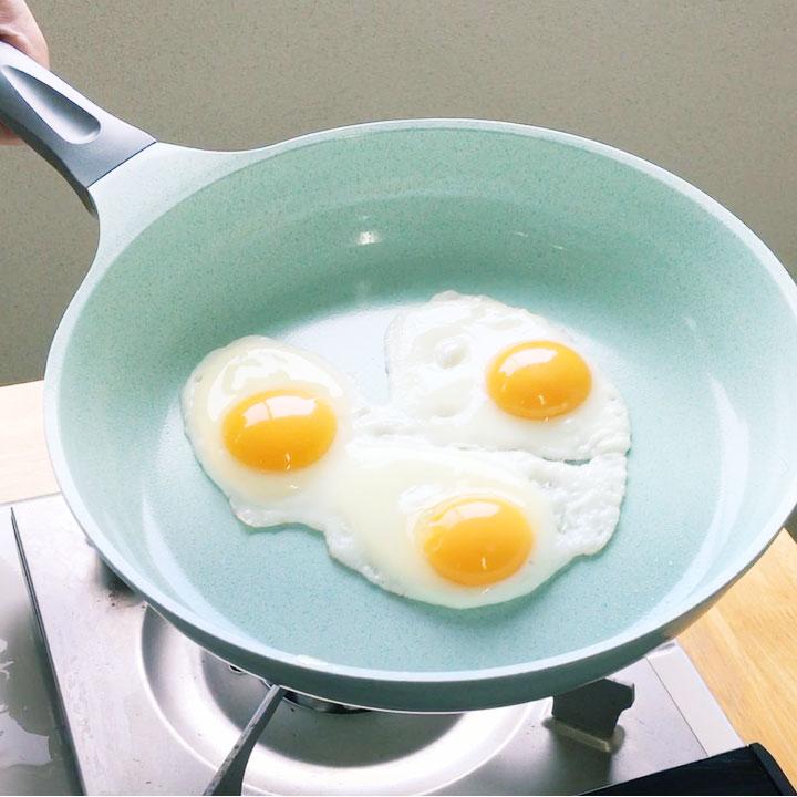 KUKUNA 超輕量翡翠塗層不沾鍋-28CM深鍋 / IH爐對應-日本必買 日本樂天代購 8