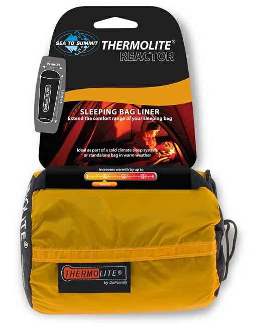 【【蘋果戶外】】Sea to Summit AREACTOR 『內套/一般升溫款/+8℃』THERMOLITE REACTOR LINER 保暖排汗睡袋內套STSAREACTOR