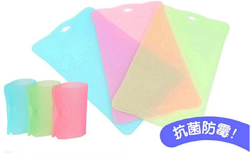 【淘氣寶寶】韓國製 JMGreen 新鮮凍TPU抗菌分類 切菜板 砧板 一片 (顏色隨機)