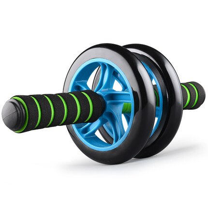 健身器材家用健腹輪腹肌輪健身輪運動鍛煉器材滾輪雙輪腹肌健身器【免運】