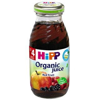 【6罐超值組促銷】Hipp喜寶-有機綜合紅寶多果汁200ml6罐434元(不混搭)*美馨兒