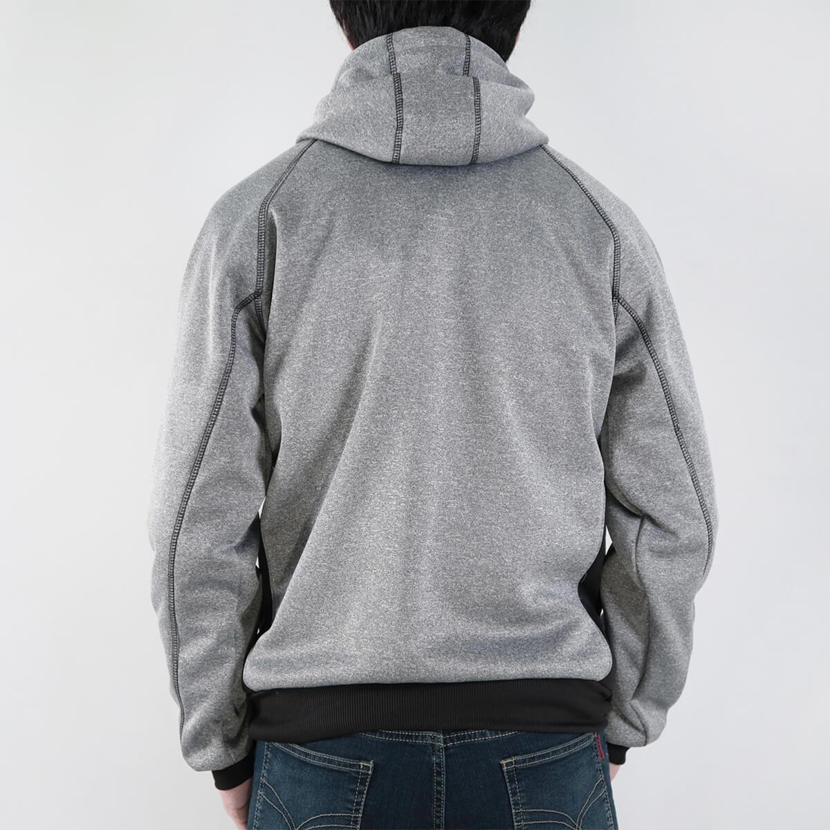 內刷毛連帽保暖外套 夾克外套 運動外套 休閒連帽外套 刷毛外套 黑色外套 時尚穿搭 WARM FLEECE LINED JACKETS (321-8916-01)淺灰色、(321-8916-02)深灰色、(321-8916-03)黑色 L XL 2L(胸圍46~50英吋) [實體店面保障] sun-e 5