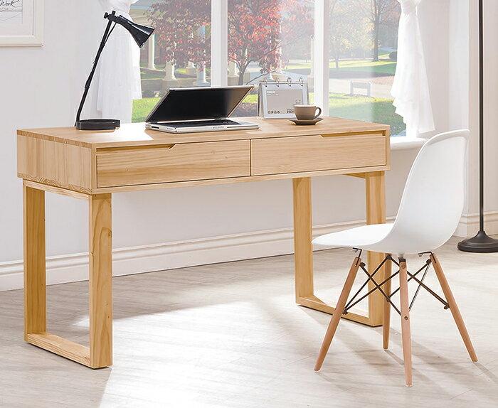 ~尚品傢俱~HY~A465~01 羅本北歐全實木4尺書桌