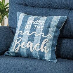 抱枕套 45×45 HB beach stripe NITORI宜得利家居