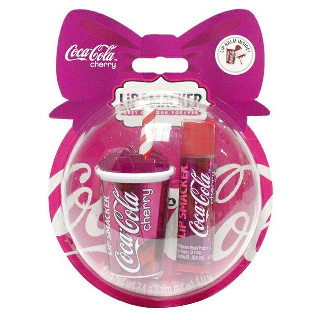 美國LiP SMACKER汽水杯護唇限量組-櫻桃可樂