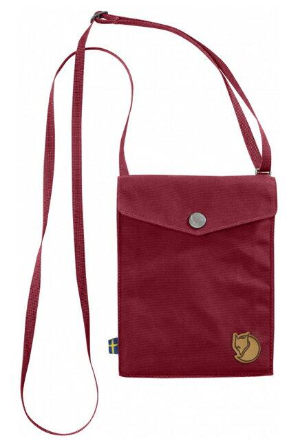 【鄉野情戶外專業】 Fjallraven |瑞典|  Fjällräven Pocket 旅行隨身袋 護照包 側肩包《紅木色》 _24221