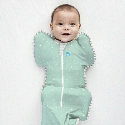 Love To Dream SWADDLE UP 蝶型包巾 Stage1(0歲~6個月)新生兒包覆款★輕薄★-星空款