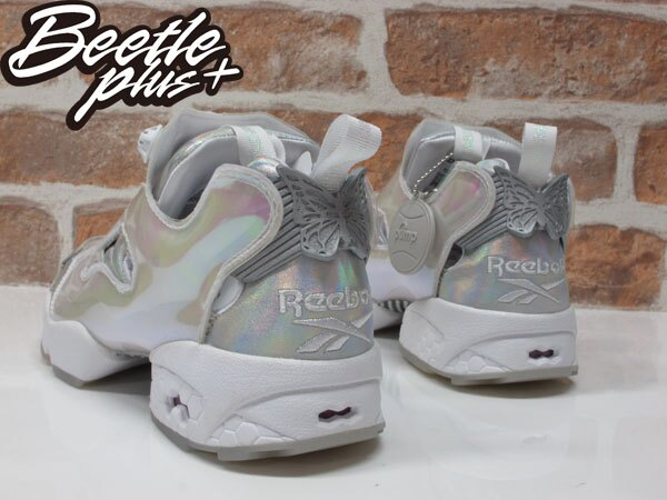女鞋 BEETLE REEBOK PUMP FURY x DISNEY 灰姑娘 迪士尼 V65831 22.5CM 2