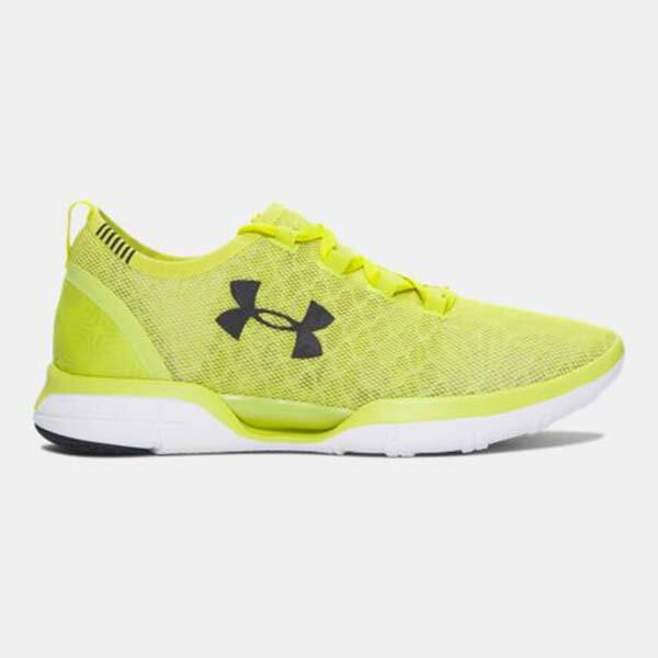 《下殺5折》Shoestw【1285666-772】UNDER ARMOUR Charged CoolSwitch 慢跑鞋 透氣網布 螢光黃 男生 0