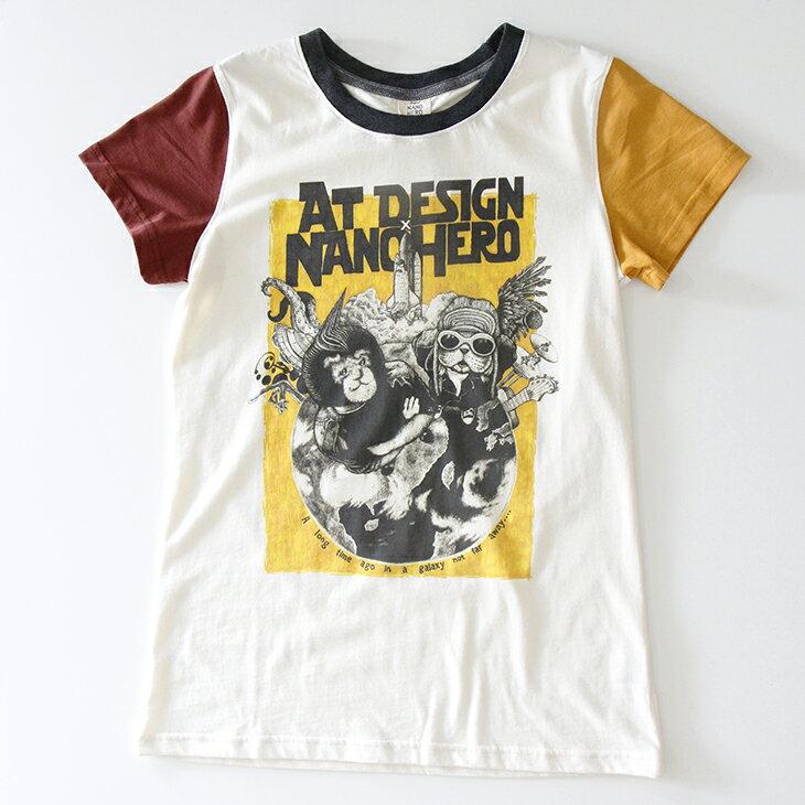at!design 與 NANO HERO 聯名款 T~shirt