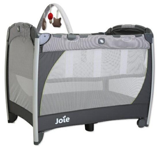 【淘氣寶寶】奇哥 Joie Excursion 遊戲床 JBA60400D 【附贈蚊帳、吊床、玩偶】【奇哥正品】