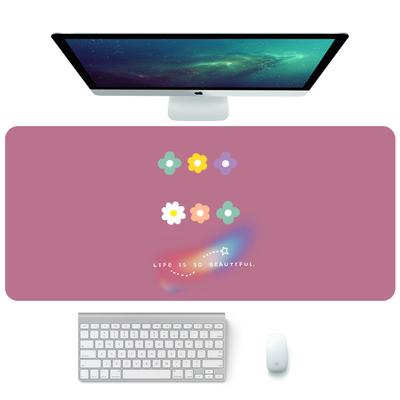 防水寫字桌墊 滑鼠墊可愛超大號加厚小清晰電腦辦公桌墊防水學生寫字桌面鍵盤墊『XY3856』