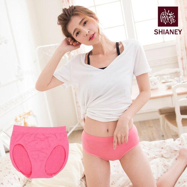 shianey席艾妮:女性無縫中腰褲超彈性台灣製No.6885-席艾妮SHIANEY