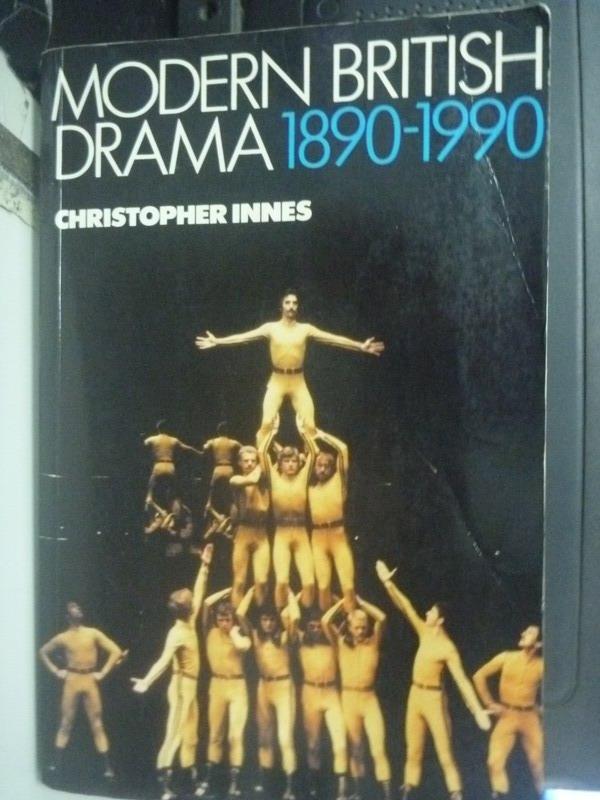 ~書寶 書T3/藝術_YED~Modern British Drama 1890~1990