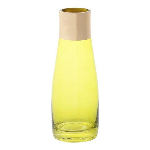 霧金瓶口玻璃花瓶