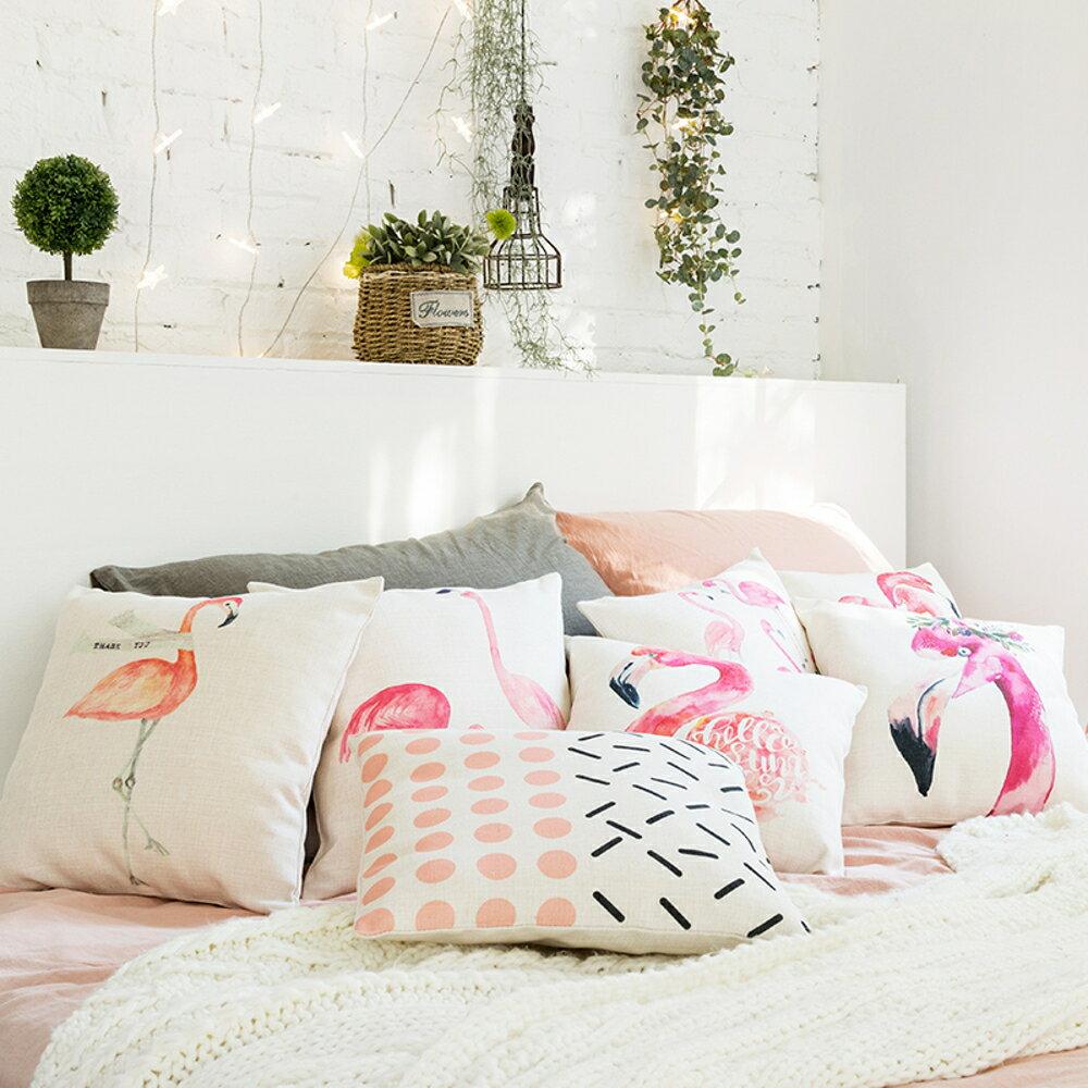 ✤宜家✤時尚簡約實用抱枕277  靠墊 沙發裝飾靠枕