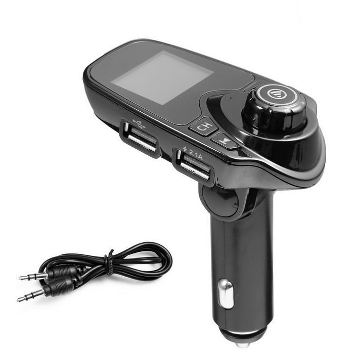 Bluetooth Car FM Transmitter Radio Adapter USB Charger MP3 Player 5
