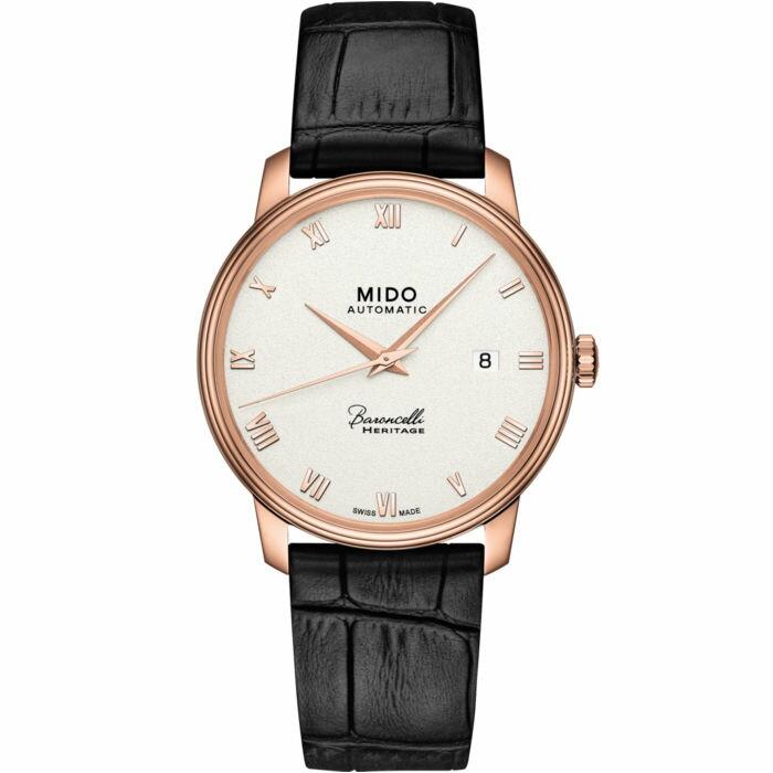 Mido 美度錶 M0274073601300 Baroncelli系列Heritage男士機械腕錶  / 39mm - 限時優惠好康折扣